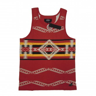 10 Deep '10 Nations' Vest Tank -Red-