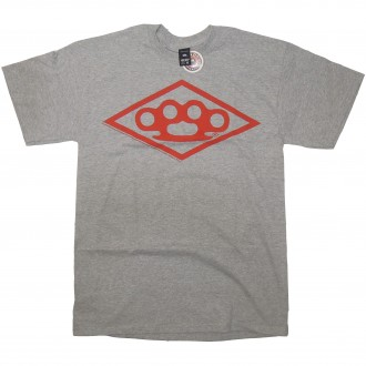 10 Deep 'Diamond Knuckle 12' T-Shirt -Grey-