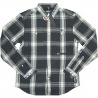 10 Deep 'All Lines Plaid' Shirt -Black-