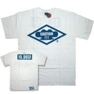 10 Deep 'Caution' T-Shirt -White-