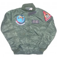 10 Deep 'Death From Below' Flight Jacket -Army-
