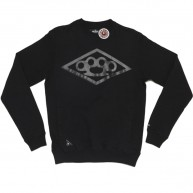 10 Deep 'Diamond Knuckle' Sweatshirt -Black-