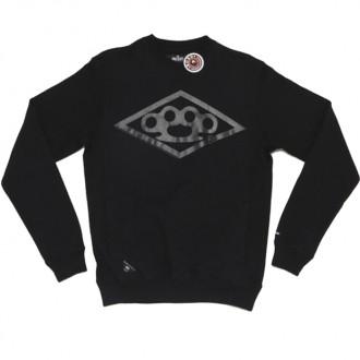 10 Deep 'Diamond Knuckle' Sweatshirt -Black-