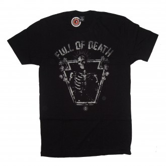 10 Deep 'Full O Death' T-Shirt -Black-