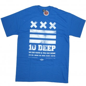 10 Deep 'Go Home' T-Shirt -Blue-