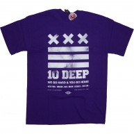 10 Deep 'Go Home' T-Shirt -Purple-