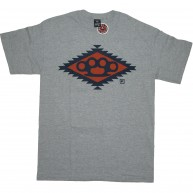 10 Deep 'Navajo Diamond Knuckle' T-Shirt -Grey-