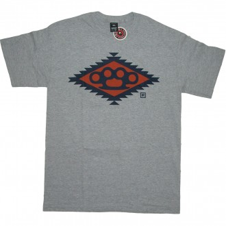 10 Deep 'Navajo Diamond Knuckle' T-Shirt -Grey-