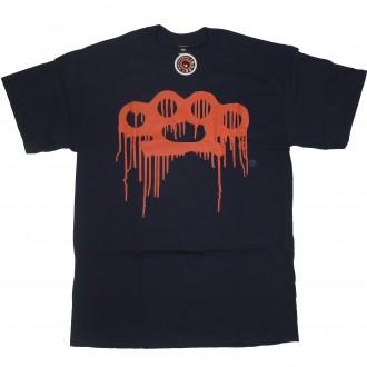10 Deep 'Drip Knuckle Logo' T-Shirt -Navy-