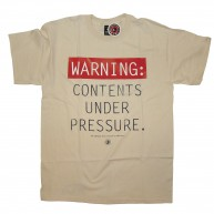10 Deep 'Under Pressure' T-Shirt -Natural-