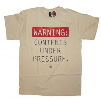 10 Deep 'Under Pressure' T-Shirt -Natural-