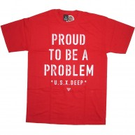 10 Deep 'Proud To Be' T-Shirt -Red-