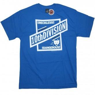 10 Deep 'Reckless' T-Shirt -Blue-