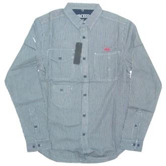 10 Deep 'Transcontinetal' Shirt -White-