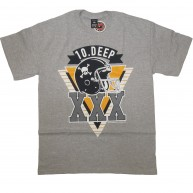 10 Deep 'Triple X Gridiron' T-Shirt -Grey-