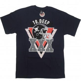 10 Deep 'Triple X Gridiron' T-Shirt -Navy-