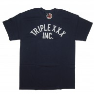 10 Deep 'Triple X Inc' T-Shirt -Navy-