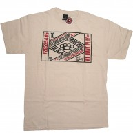 10 Deep 'Vintage Lable' T-Shirt -Natural-