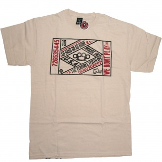 10 Deep 'Vintage Lable' T-Shirt -Natural-