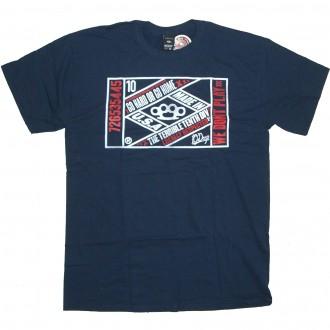10 Deep 'Vintage Lable' T-Shirt -Navy-
