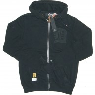10 Deep 'Western' Hooded Sweat -Black-
