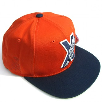 10 Deep 'X-Wing' Snapback Cap -Rust-