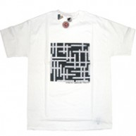 Twelve Bar'Hip Hop Crossword' Tee  -White-
