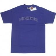 Twelve Bar'Fuckface' Tee  -Purple-
