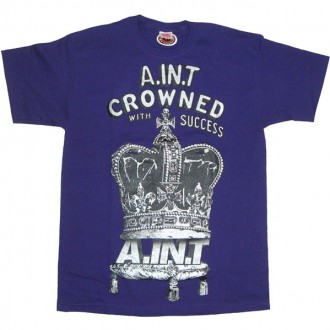 A.IN.T 'Crowned With Success' T Shirt  -Purple-