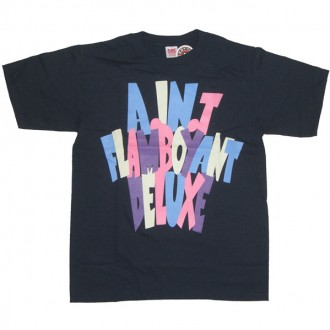 A.IN.T 'Flamboyant' T Shirt  -Black-