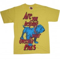 A.IN.T 'Final Knockout' T Shirt  -Yellow-