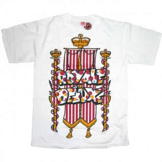 A.IN.T 'Royal Delux' T Shirt  -White-