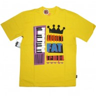 Addict 'x 24 Kilates' T Shirt -Yellow-