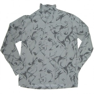 Addict 'LS Shirt' Overshirt  -Snow Grey-