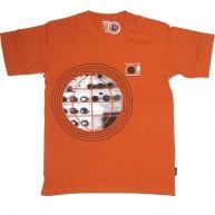 Addict 'Man From Addict' T Shirt  -Orange-
