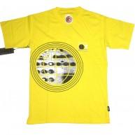 Addict 'Man From Addict' T Shirt  -Yellow-