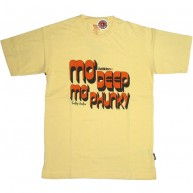 Addict 'Mo Deep' T Shirt  -Yellow-