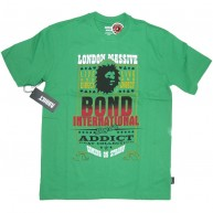 Addict 'x Bont Int.' T Shirt -Green-
