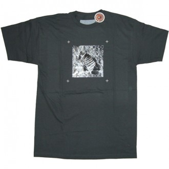 Analog 'Prediction' Tee  -Grey-