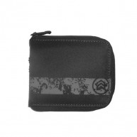 Analog 'Zip wallet'  -Black-