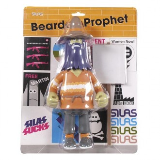 Silas 'Bearded Prophet ' Figure -Orange-