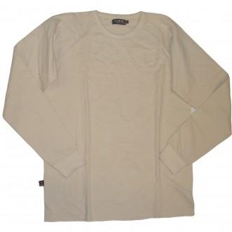 Bond 'Airtex' L/S T-Shirt  -Natural-