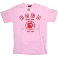 Bond 'College' Tee -Pink-