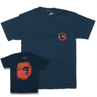 Bond 'Lion Head' Tee  -Blue-