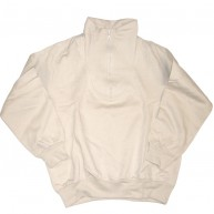 Bond 'Funnel Neck' Sweatshirt  -Natural-