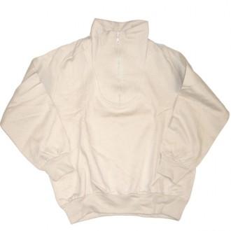 Bond 'Funnel Neck' Sweatshirt  -Natural-