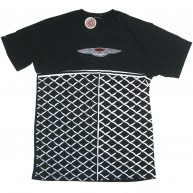 Crooks And Castles 'Bent Grill' Tee  -Black-