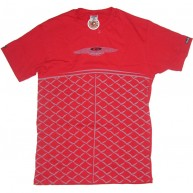 Crooks And Castles 'Bent Grill' Tee  -Red-