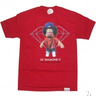 Diamond Supply Co 'Daniel Castillo' Tee -Red-