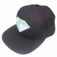 Diamond Supply Co 'Emblem' Snapback Cap -Blk w/Diamond B